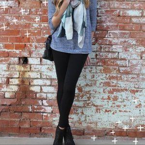 CAbi black ponte leggings size medium